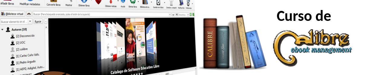 CURSO de CALIBRE - e-books