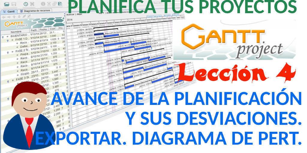 Tutorial Ganttproject Espa U00f1ol 4 Avance De La Planificaci U00f3n