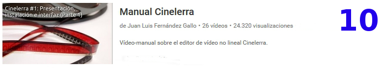 curso del software libre cinelerra en youtube