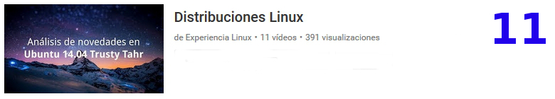 análisis de distribuciones Linux en youtube