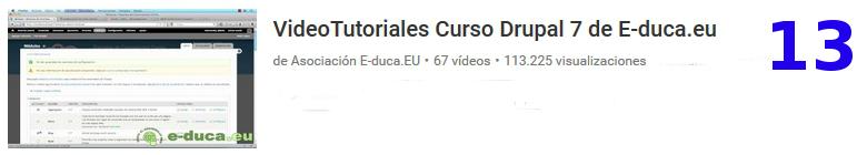 curso de drupal en youtube