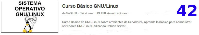 curso servidores Debian GNU / Linux en youtube