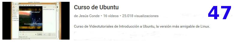 curso de Ubuntu en youtube